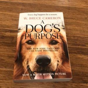 New! A Dog's Purpose -Bruce Cameron paperback book
